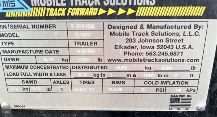 "50 foot by 12 Foot ""Highboy' trailer (Custom)"